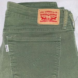 Levi Strauss 711 Ladies' Cropped Jeans Size 29